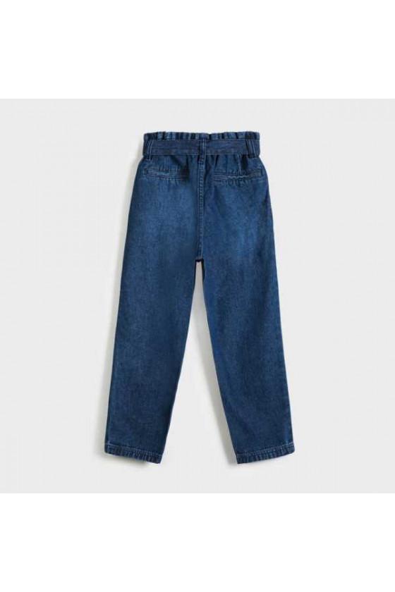 Pantalon slouchy tejano