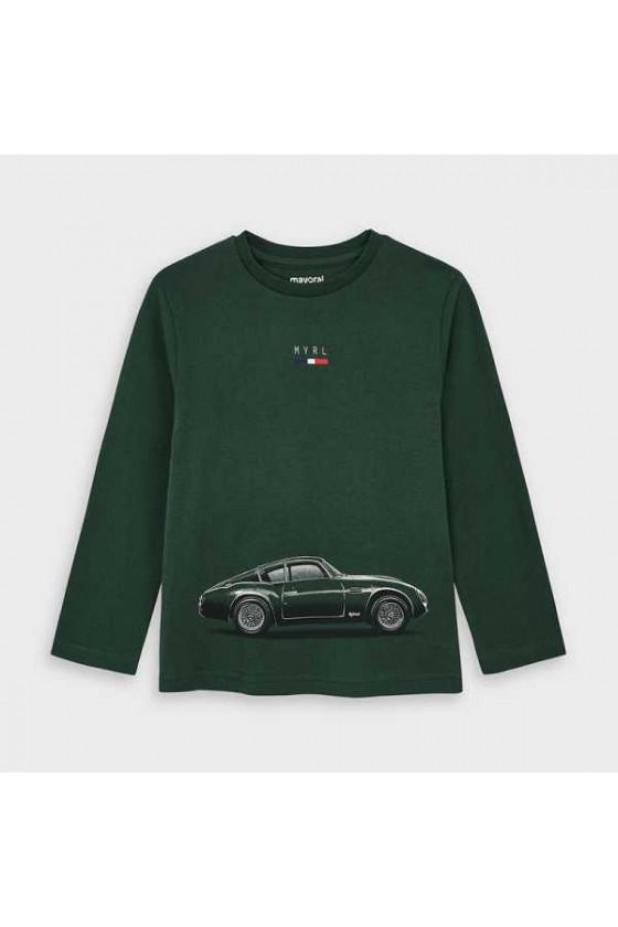 Camiseta m/l coche