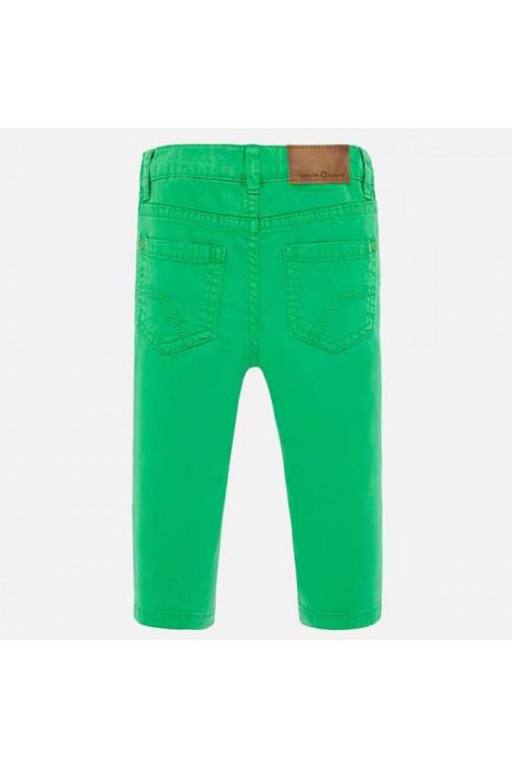Pantalon sarga slim fit basic