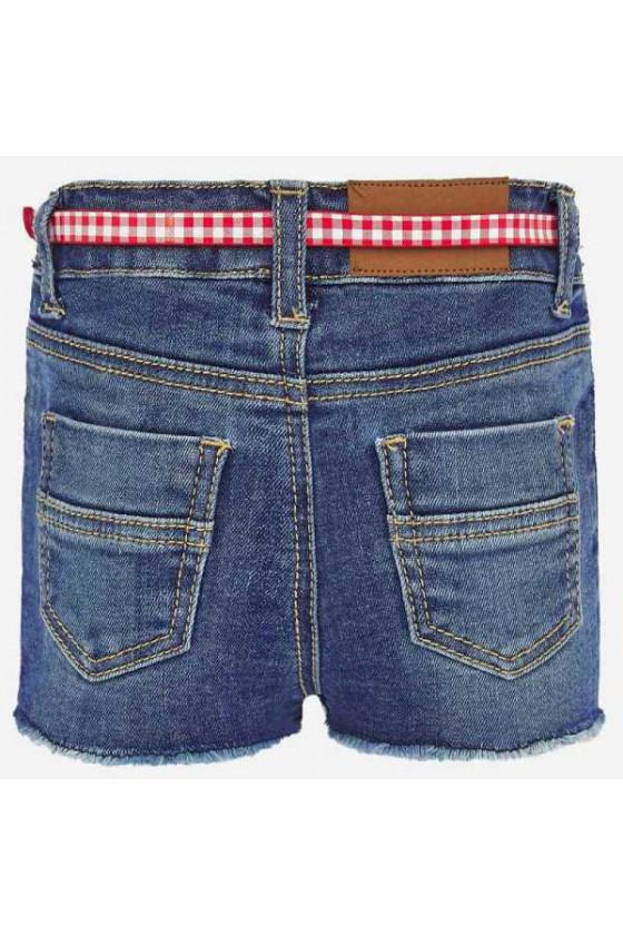 Pantalon corto denim