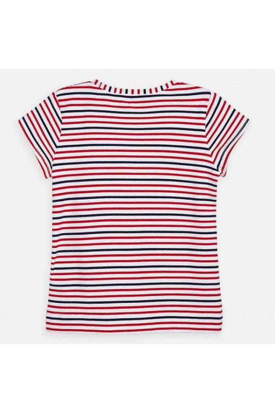 Camiseta m/c rayas pañuelo