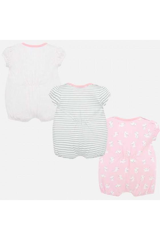 Set 3 pijamas cortos