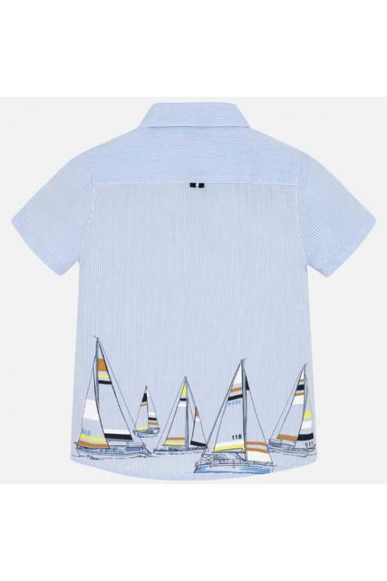 Camisa m/c serigrafia