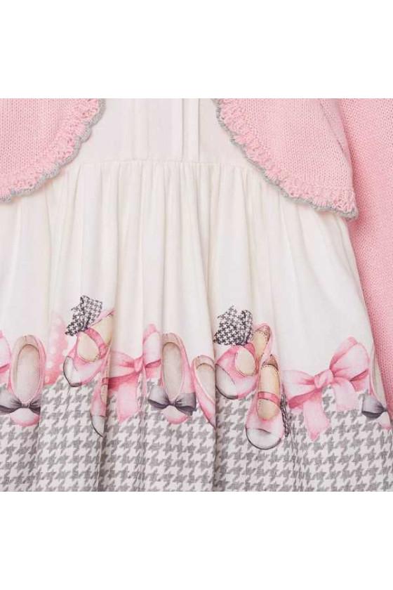 Vestido cenefa rebeca