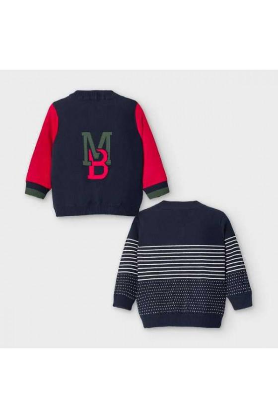 Canguro tricot reversible talla de 6 a 36 meses
