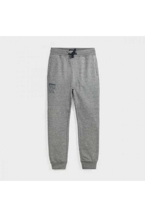 Pantalon felpa basico puños