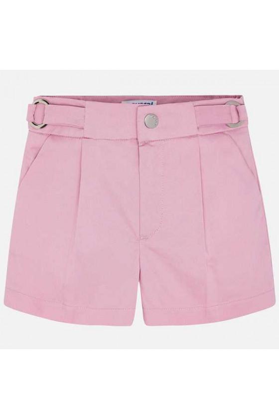 Pantalon corto saten