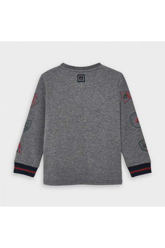 Camiseta m/l print patente