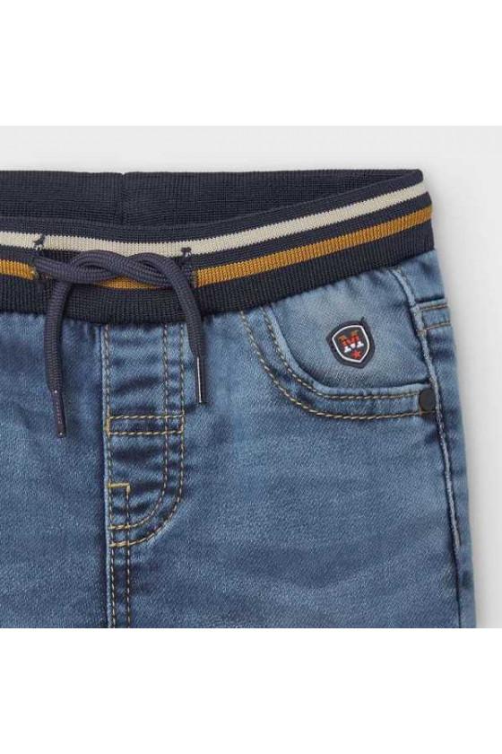 Pantalon jogger soft denim (talla de 6 a 36 meses)