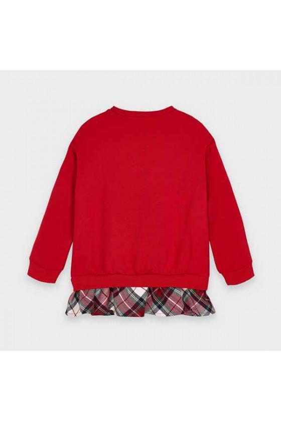 Pullover combinado (talla de 2 a 9 años)