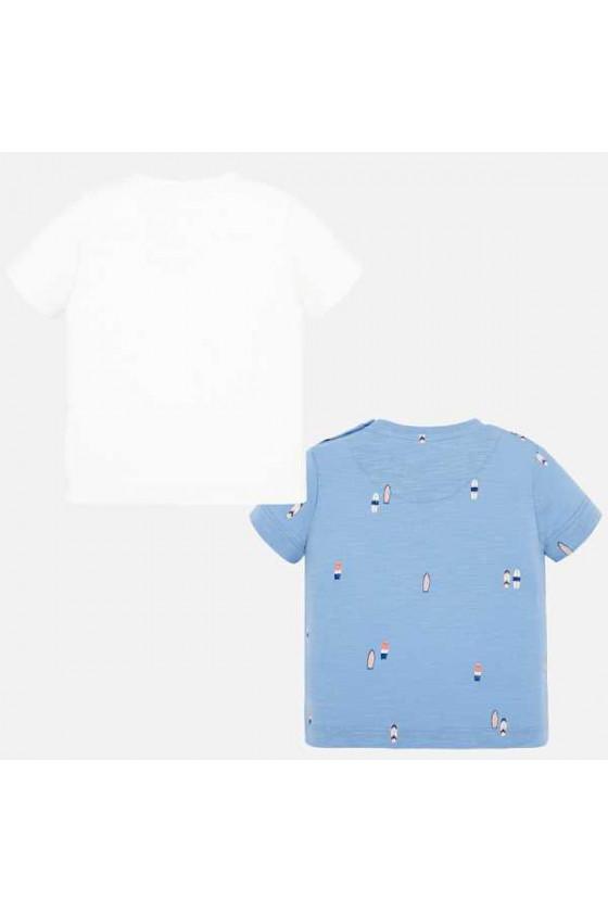 Set 2 camisetas m/c estampada