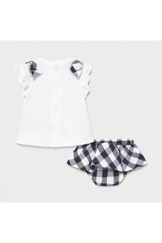 Conj falda y camiseta