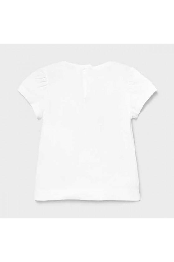 Camiseta m/c apliques